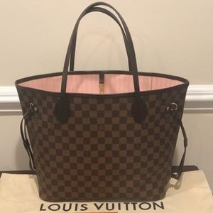 🌸pink ballerine Louis Vuitton neverfull